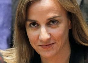 Rueda de prensa de Tania Sánchez para explicar su salida de IU MAdrid.