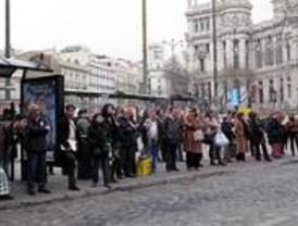 Quinta jornada de huelga de autobuses