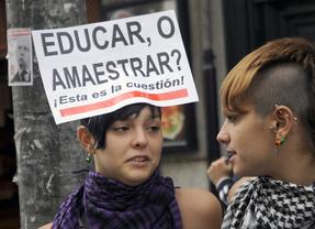 Miles de alumnos se manifiestan contra la LOMCE