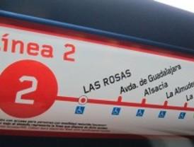 La línea 2 de Metro estará cerrada entre las estaciones de Sol y Goya por obras