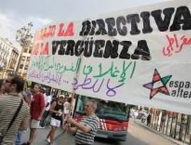 Protesta contra la Directiva de Retorno de inmigrantes