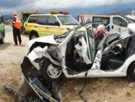 Herida muy grave tras un choque en la Carretera de Colmenar