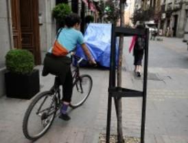 Las bicis podrán ir por las aceras de más de tres metros
