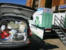 Reciclar tiene su punto en Leganés