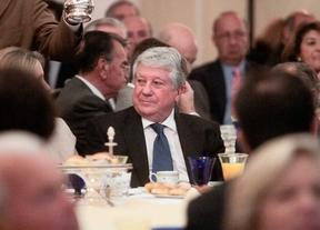 Arturo Fernández en el desayuno informativo Forum Europa en el hotel Ritz.
