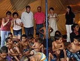 Familias getafenses acogen niños saharauis