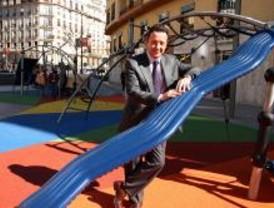 'Se ha impuesto el sentido común en la zona infantil de la plaza de Felipe II'