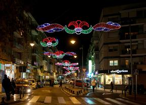 Alcobendas ya disfruta de las luces navideñas y su belén