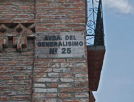 Piden cambiar dos calles 'franquistas' en Boadilla