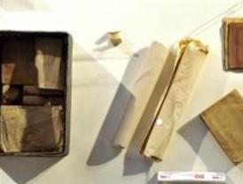 Identificado el interior de la cápsula de Cervantes