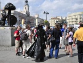 El turismo crece 10 punto más en Madrid que en el resto de España