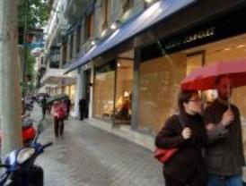 'Alunizaje' en la calle de Serrano a plena luz del día