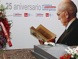 Madrid no olvida a Tierno