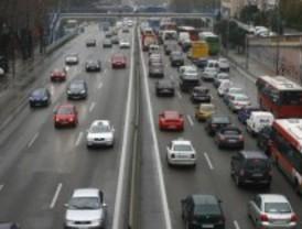 El riesgo de nevadas perjudica el tráfico