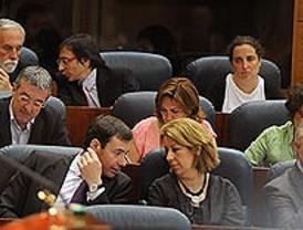 Debate político en la segunda sesión de investidura de Aguirre
