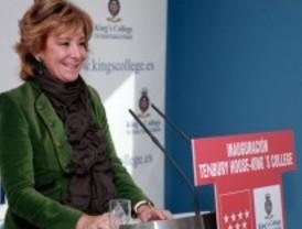 Aguirre: 'No hay dinero para 17 administraciones regionales'