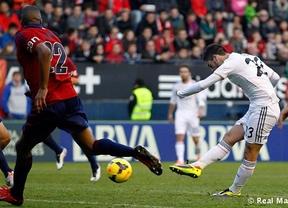 El Real Madrid firma un empate ante el Osasuna