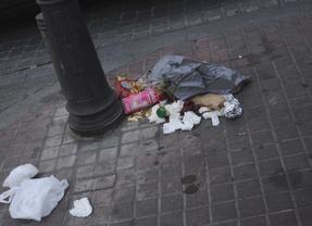 Un 85% de los encuestados ve Madrid muy sucio