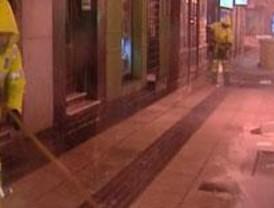 La cuarta nevada del invierno cae sobre Madrid