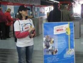 Metro Ligero inicia una campaña sobre la importancia de validar el billete