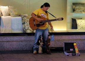 Los músicos callejeros tendrán que pasar una prueba para tocar en Centro