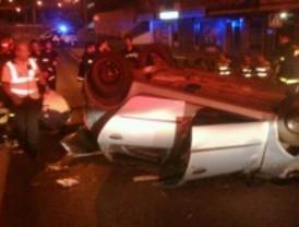 Fallece al colisionar con su vehículo contra un muro de hormigón en la M-40