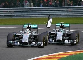 Ricciardo conquista Bélgica ante una nueva polémica de Mercedes