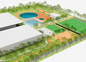 Un club deportivo sobre parte de la parcela de la ampliación de Ifema