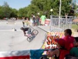 Alcorcón estrena su primer skatepark