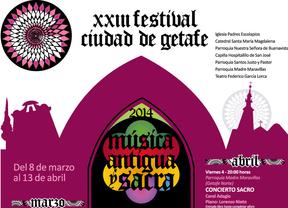 Todo listo para el XXIII festival de música antigua y sacra 'Ciudad de Getafe'