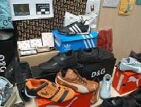 Detenida una persona con 300 falsificaciones en Majadahonda