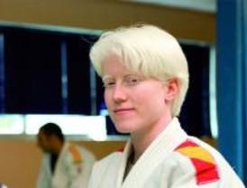 La judoka roceña, Marta Arce, en los Juegos Paralímpicos de Pekín