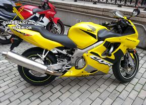 Cae una red de venta de motos robadas