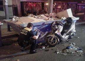 Fallece tras colisionar su moto con un taxi en Príncipe de Vergara