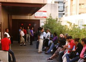 Baja en 10.965 personas el número de parados en la Comunidad de Madrid