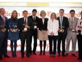 Los emprendedores premian a Avalmadrid
