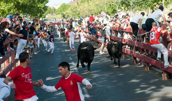 La ciudad no pudo celebrar el año pasado los encierros. En la imagen, el primero de 2014.