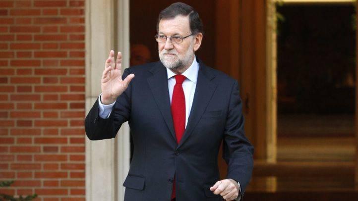 Rajoy, en la reunión con Pedro Sánchez tras las elecciones del 20D (archivo)