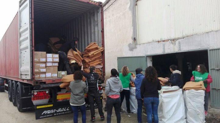 Los madrileños se movilizan para ayudar al pueblo sirio