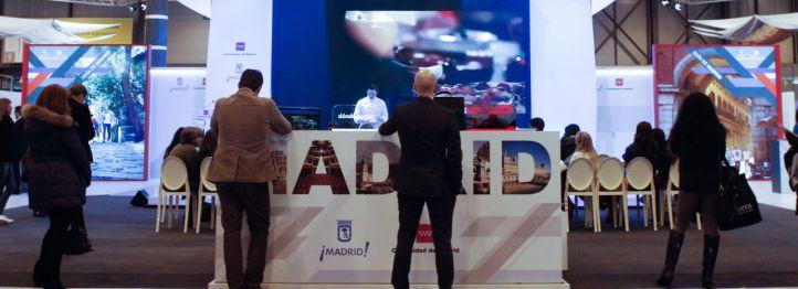 Feria Fitur 2016 stand de Madrid.