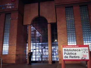 Biblioteca de Retiro, cerrada por obras