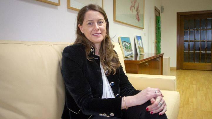 Elena Mayoral, directora del aeropuerto Adolfo Suárez Madrid-Barajas.