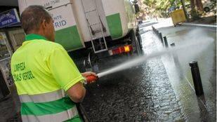 La empresa Valoriza retira de forma definitiva el ERTE en el servicio de limpieza viaria