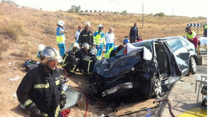 Accidente de tráfico (archivo).
