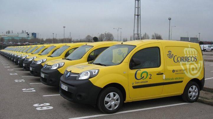 Correos incorpora a su flota el Renault Kangoo Z.E eléctrico