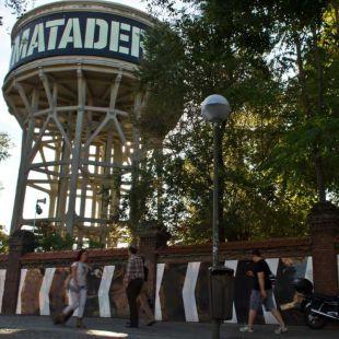 Matadero Madrid y depósito de agua
