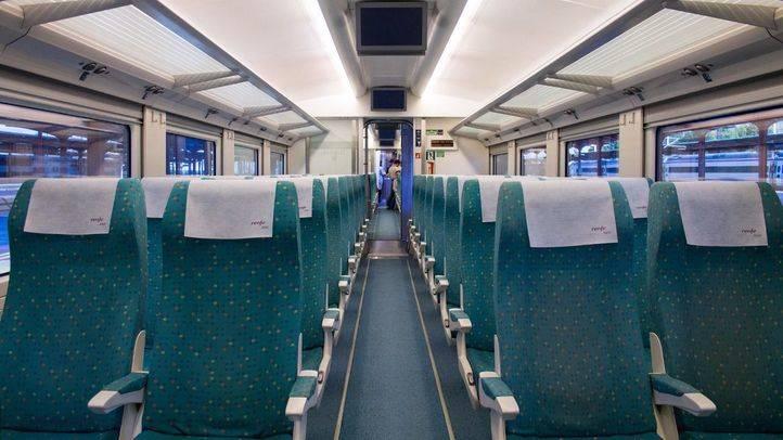 Interior de un tren de Alvia (archivo).