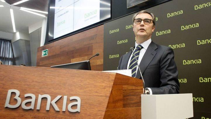 Bankia dispara sus beneficios hasta el 39,2% en 2015