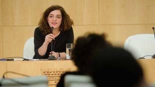 Celia Mayer, en rueda de prensa (archivo)