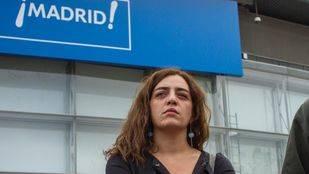 Celia Mayer, delegada de cultura y deportes del Ayuntamiento de Madrid, y Raul Varela, director de seguridad de Madrid Destino.